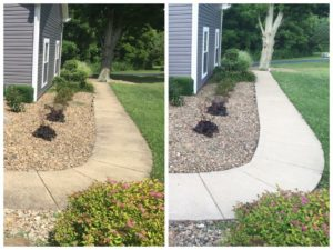 Residential Concrete Cleaning from Pro-X Services