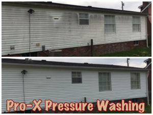 House Pressure Washing service from Pro-X Pressure Washing in Toronto,OH and surrounding