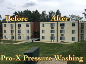 Pro-X Building Washing Services in Toronto OH and Surrounding areas.