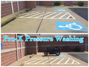 Commercial Concrete Cleaning helps keep and enhances your properties appearance. Give Pro-X Pressure Washing a call for your cleaning needs in Toronto, OH and surrounding.